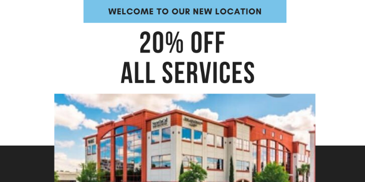 20% OFF ANY SERVICE - Partner Offer Image