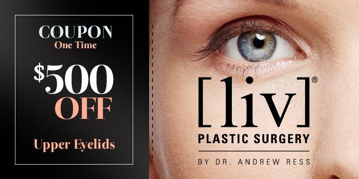 Upper Eyelids $500 OFF Coupon (one time) - Partner Offer Image