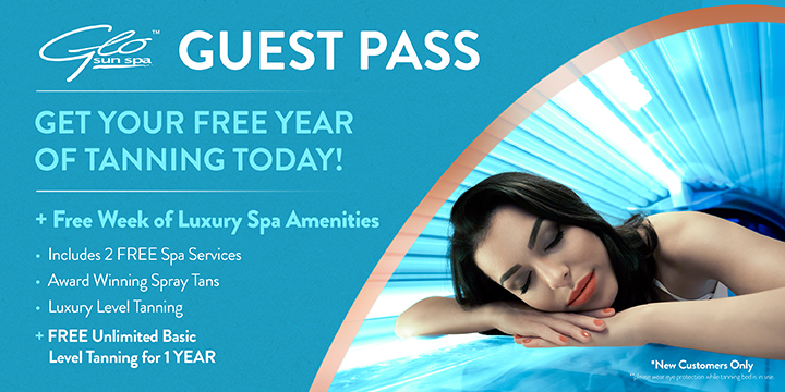 Free Tanning for 1 Year & 1 Week of Luxury Spa Amenities offer image