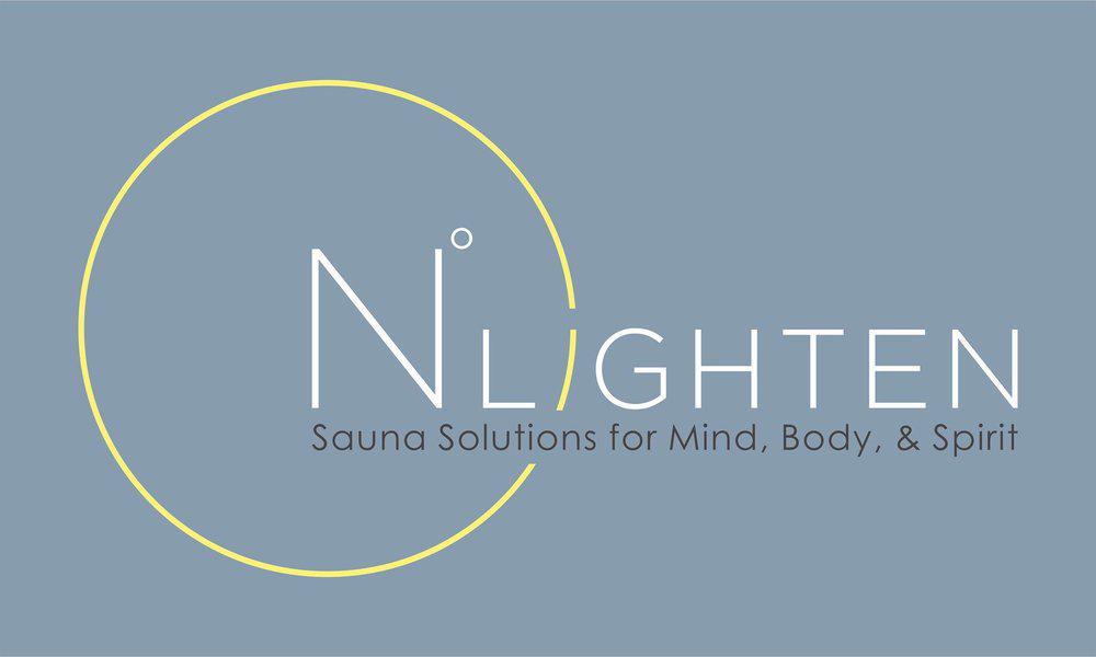N°lighten an infrared therapy sauna studio Logo