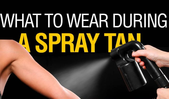 What should I wear for my spray tan session? article image