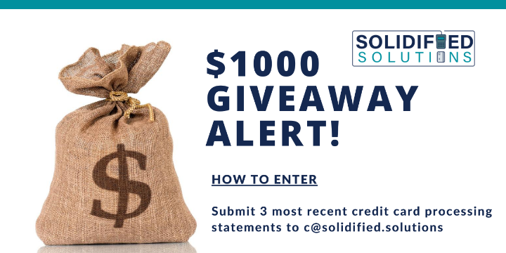 $1000 Monthly Giveaway offer image