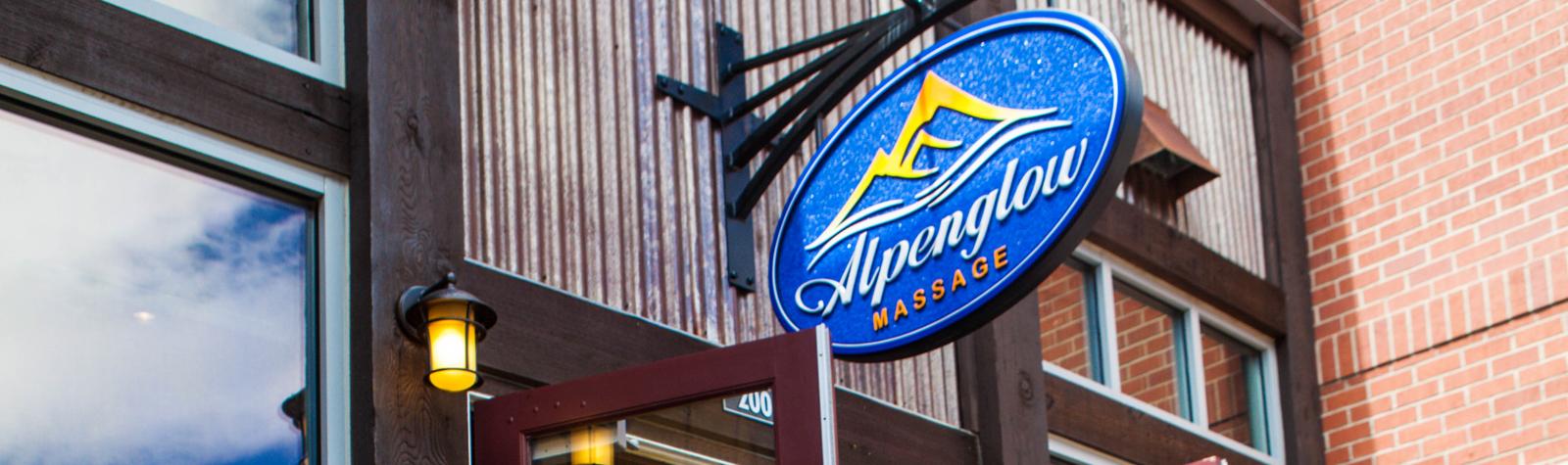 Alpenglow Massage Logo