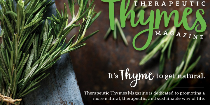 $15 for Therapeutic Thymes Magazine - Subscription at Therapeutic Thymes Magazine (0% discount) - Partner Offer Image