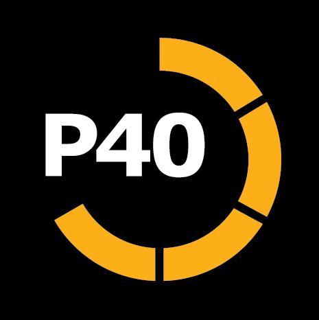 Power40 Fitness Logo