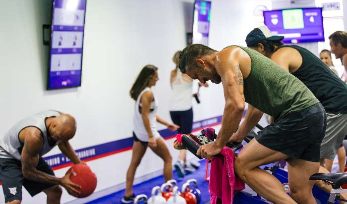 F45 FUNCTIONAL GROUP TRAINING IS THE FUTURE OF FITNESS. article image