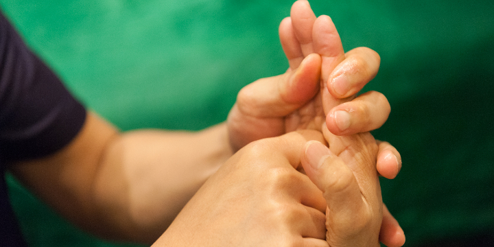 $25 off, Hand reflexology with Trainee offer image