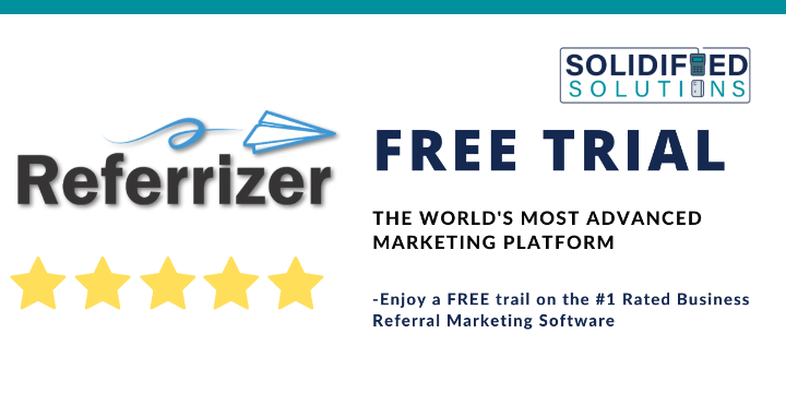 FREE TRIAL of #1 Rated Business Referral Marketing Automation Software offer image