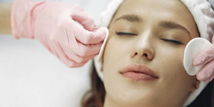 Limited - 50% OFF - For LED Peel Facial- a multi step treatment consisting of a stimulating peel and low level laser (LED) to freshen up your skin offer image