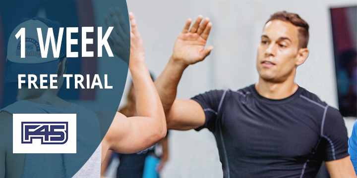 Free Week at F45 Training Newcastle offer image