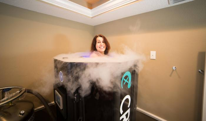 CRY-X Whole Body Cryotherapy