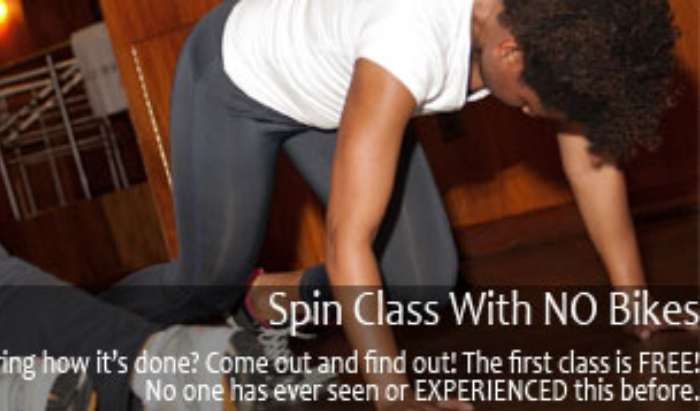Spin Class With No Bikes article image
