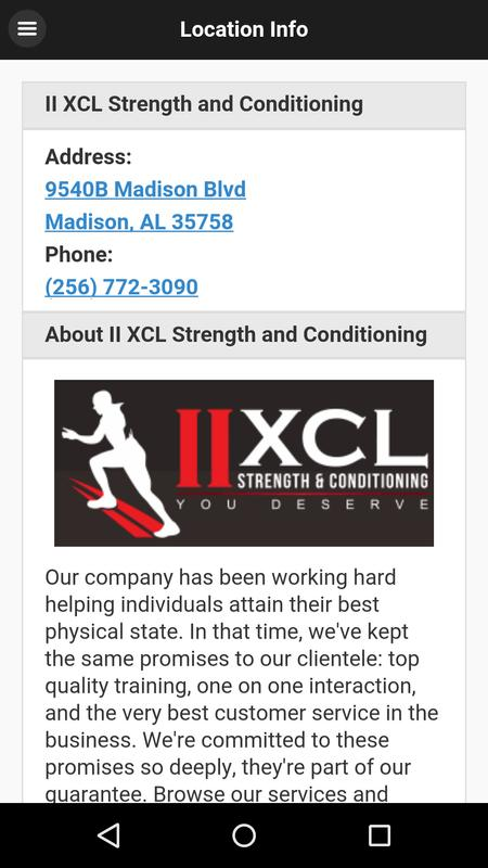II XCL Strength and Conditioning Logo