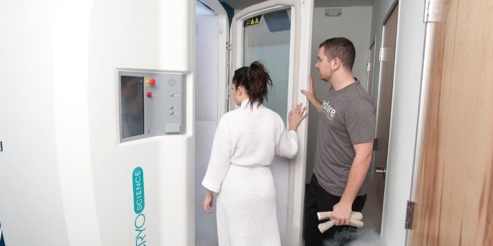 3 Cryotherapy Sessions for $49 offer image