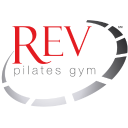 REV Pilates Gym Mobile Logo
