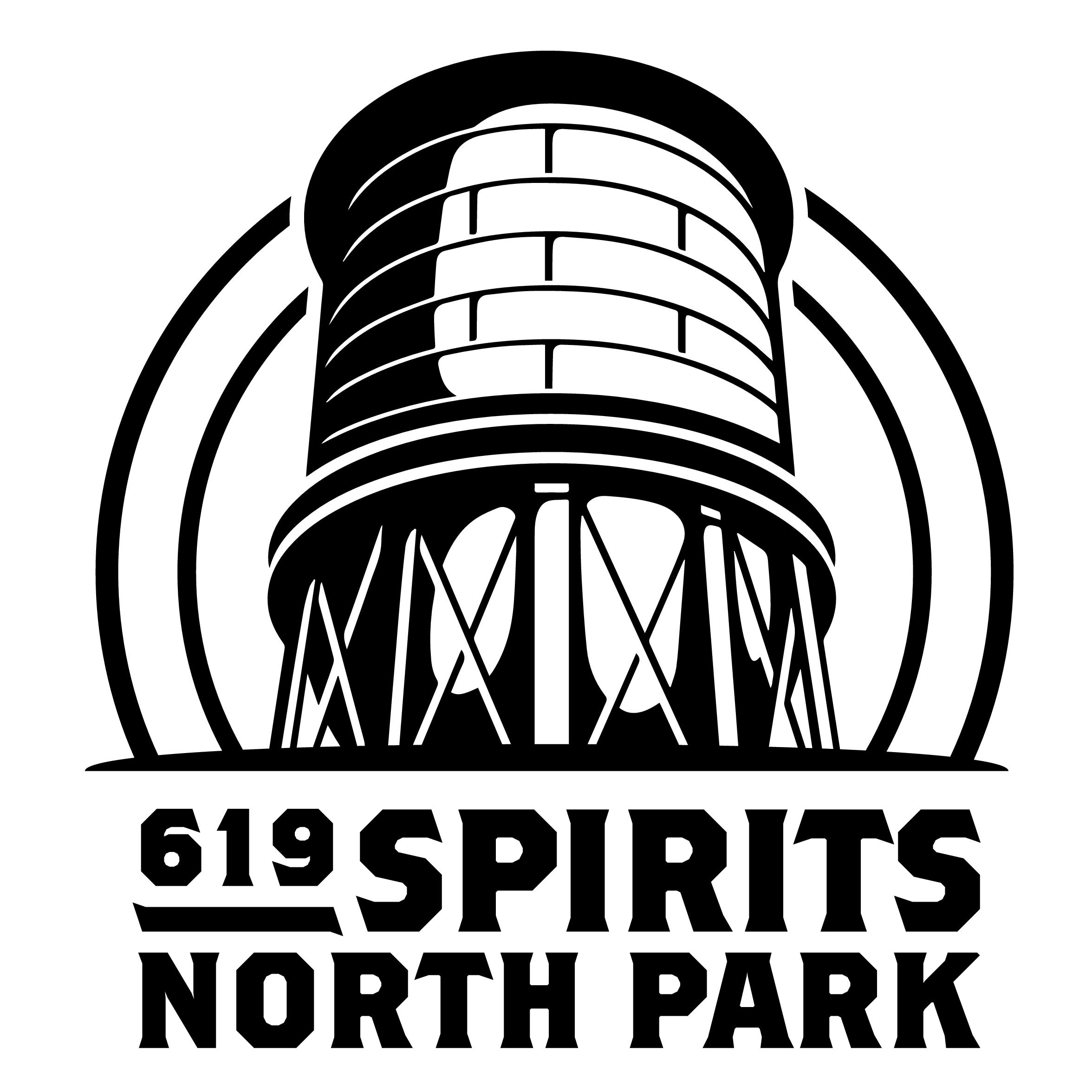 619 Spirits North Park Logo