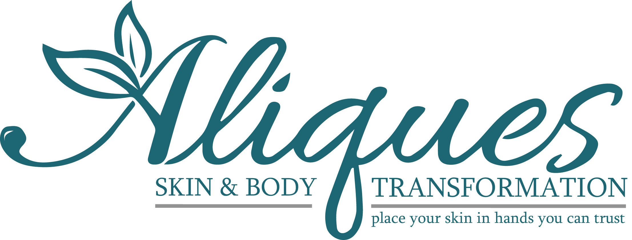 Aliques Skin & Body Transformation Logo