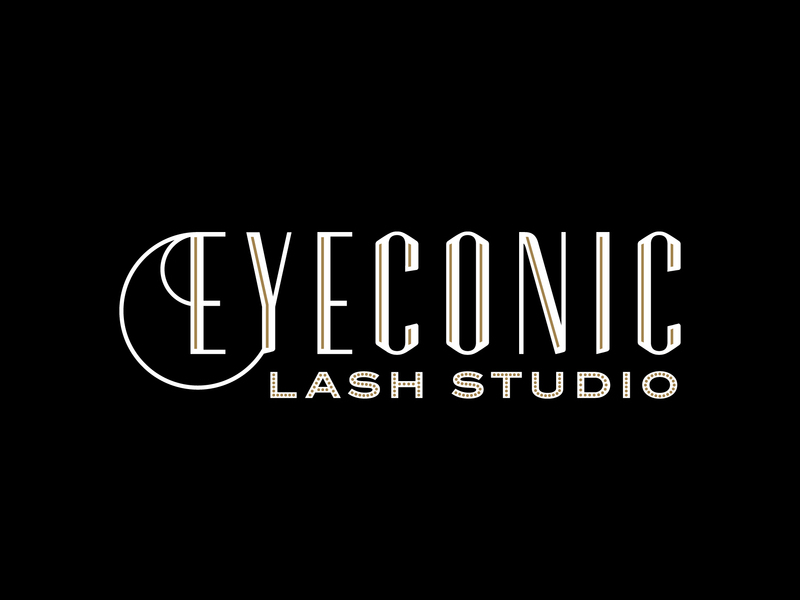 The Eyeconic Lash Mobile Logo