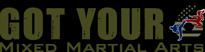 Got Your 6 Mixed Martial Arts Logo
