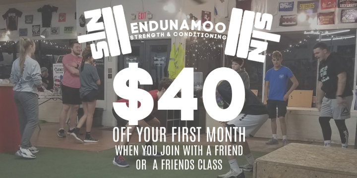 $40 OFF for New Class Members at Endunamoo! offer image
