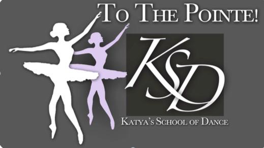 To The Pointe! - Katya's School of Dance Logo
