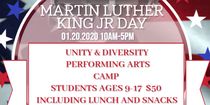 $40 for Martin Luther King Day Camp at The Origin Hip Hop Performing Arts Academy (20% discount) - Partner Offer Image
