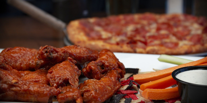 $29.99 for Tailgater's TouchDown Buffet at Pizza Man (39% discount) - Partner Offer Image