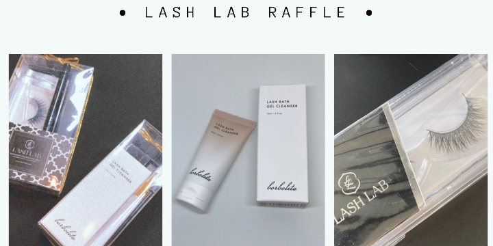 Win Lash Extension After Care Kit for ONLY $5 - Lash Lab Raffle! offer image