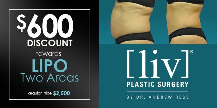 $600 DISCOUNT towards LIPO Two Areas offer image
