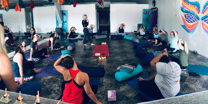 50% Off Your First Month of Yoga offer image
