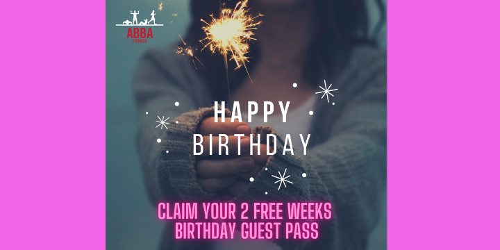Exclusive- FREE 2 Week Birthday Guest Pass - Partner Offer Image