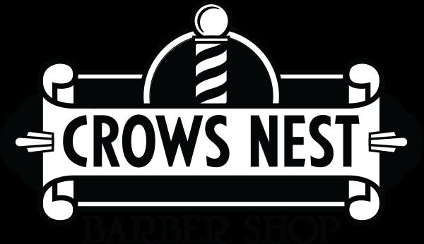 Crows Nest Barbershop Logo