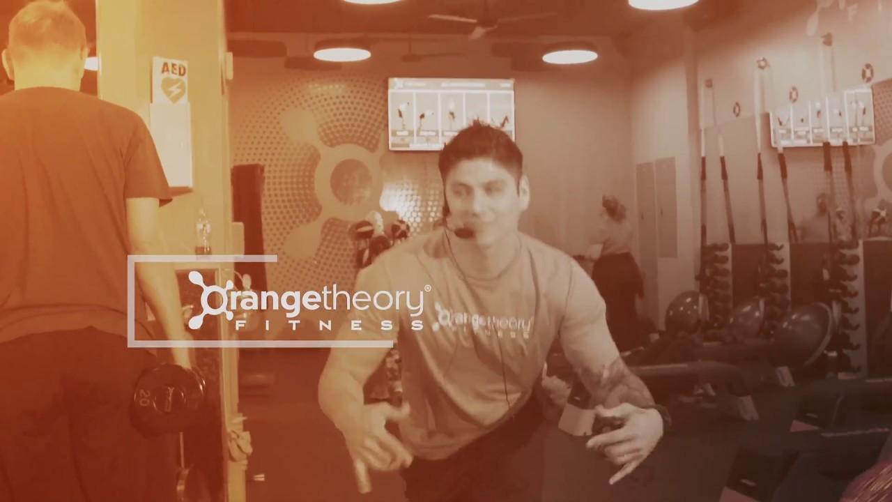 Orangetheory Fitness Circle C, Logo