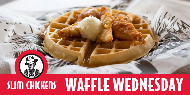 WEDNESDAY Special - Waffle Wednesday - $5,99 instead $8,99 offer image