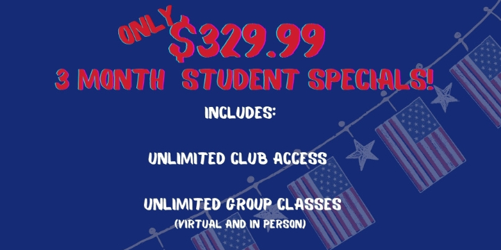 $329.99 for 3 months Student Special  at Alana Life & Fitness (41% discount) - Partner Offer Image