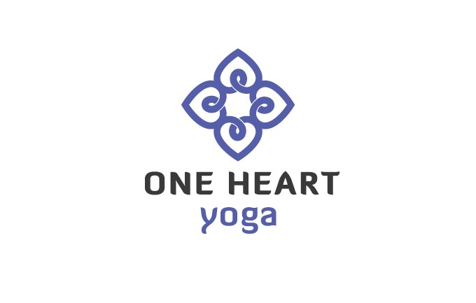 One Heart Yoga Logo