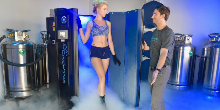 Intro Cryotherapy Session Only $25 offer image