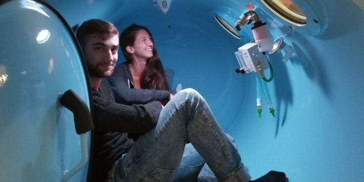 30-minute Hyperbaric Oxygen Session Test for $100.00 - Partner Offer Image