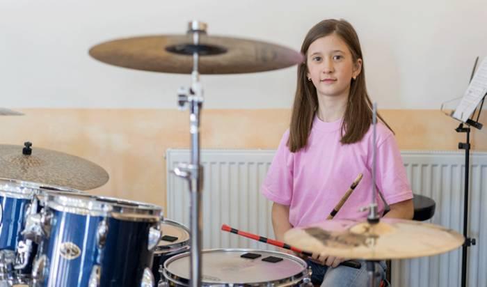 Drum lessons image