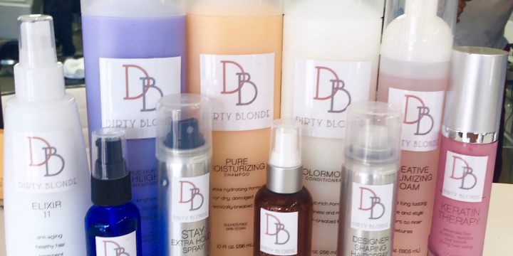 25% off DIRTY BLONDE SALON Hair Products - Partner Offer Image