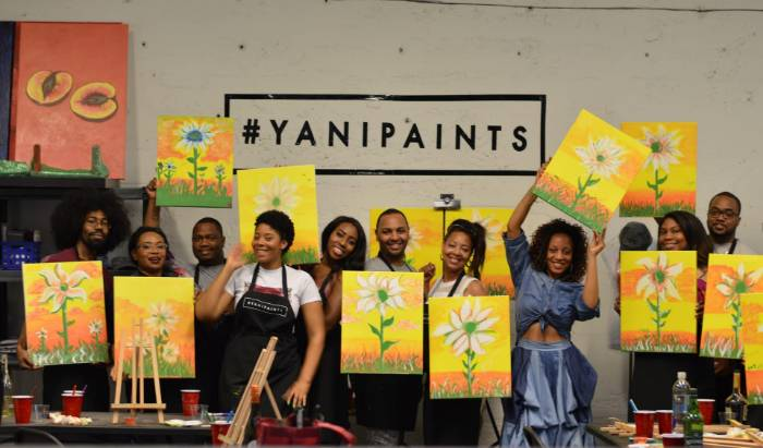 Paint + Sip with YaniPaints
