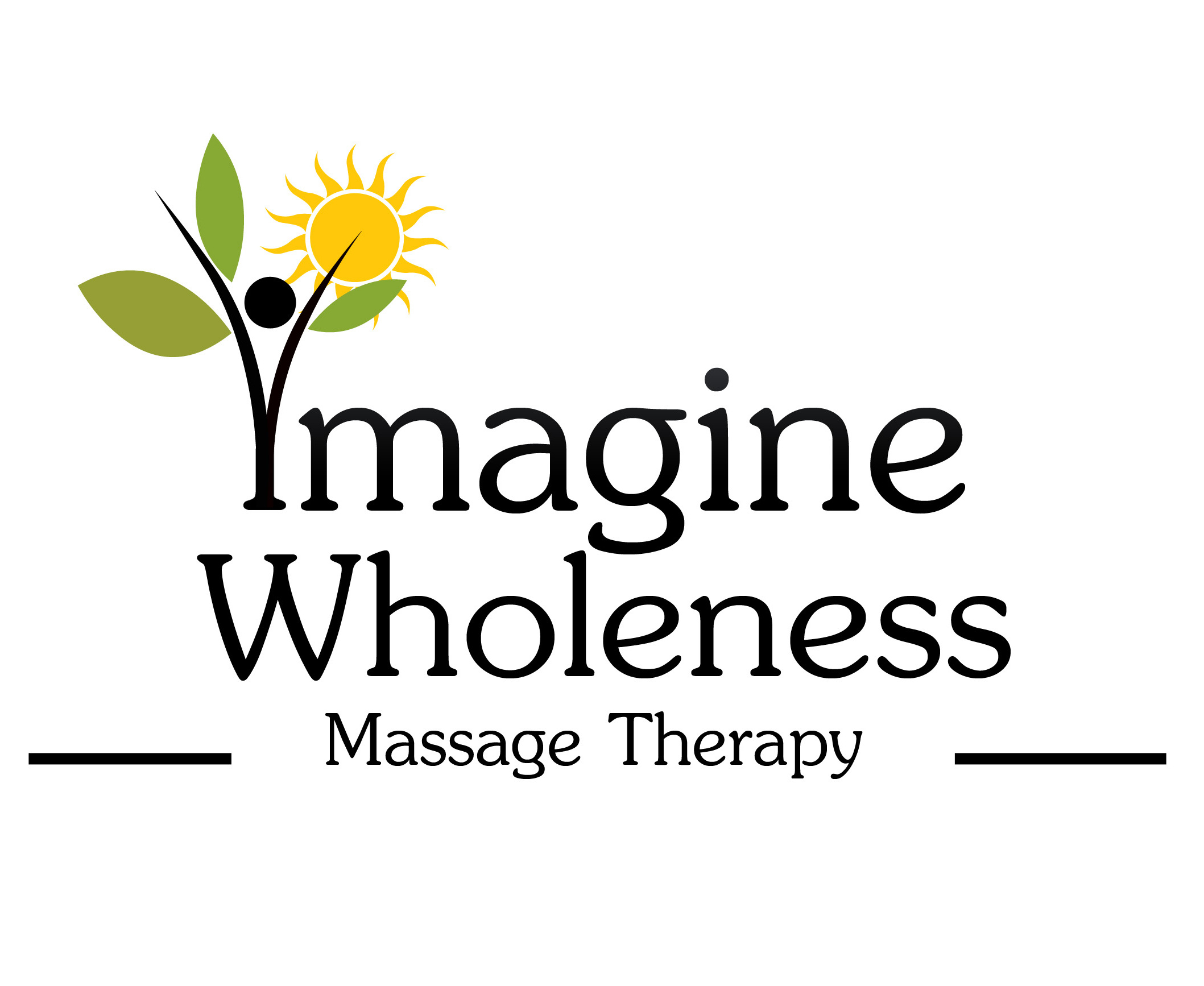 Imagine Wholeness Massage Therapy Logo