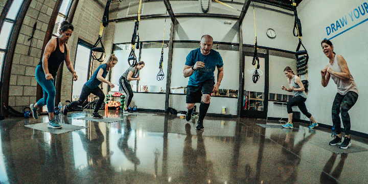 Only $44 for 4 Weeks of Unlimited Classes at Radius Fitness (New Customers) offer image