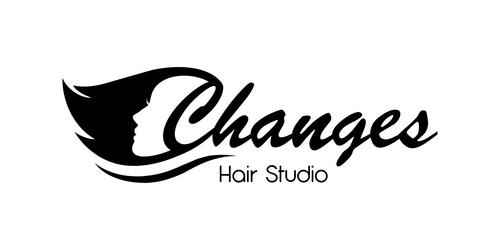The Change Hair Salon Logo