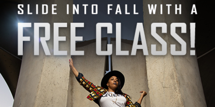 FREE DANCE CLASS! (New Customers Only!) offer image