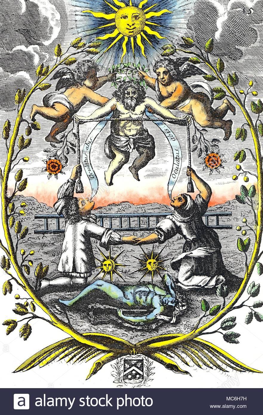 alchemy: the initiate Logo