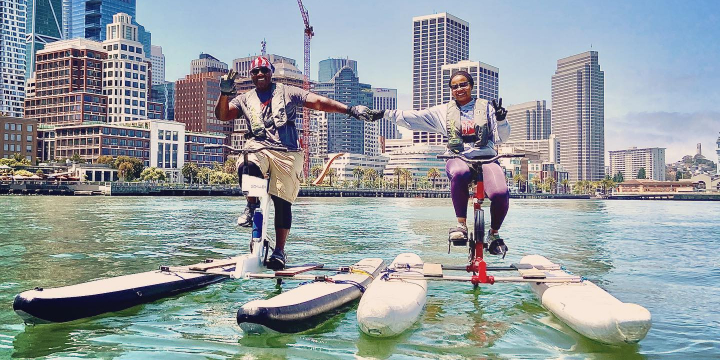 20% OFF Waterbike Classes & Tours offer image