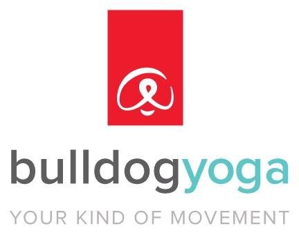 bulldog yoga boulder Logo