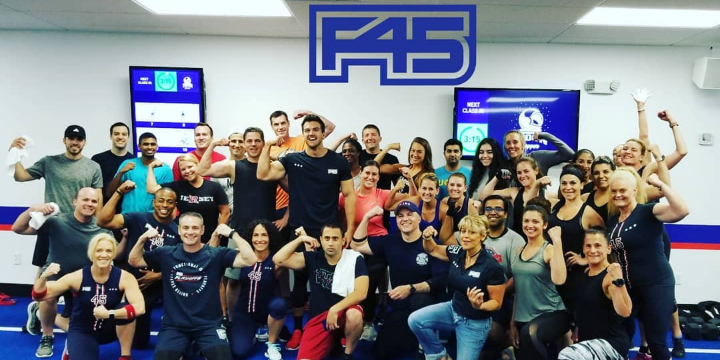 1 Week Free at F45 Clark (locals only within 10 miles)! offer image