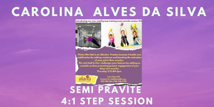 $15 for Pilates mini ball Semi-Private session 4:1   at Alana Life & Fitness (77% discount) - Partner Offer Image